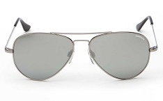 Randolph USA Concorde Gun Metal Grey Flash Mirror Sunglasses