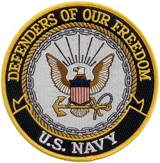 Large Defenders of Freedom Patch - US Navy