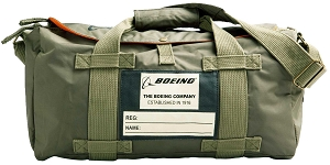 Boeing Olive Nylon Stow Duffle Bag