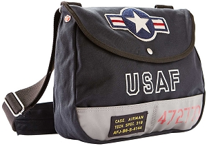 USAF Dark Navy Shoulder Bag