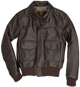 Cockpit Womens WASP A-2 Leather Flight Jacket