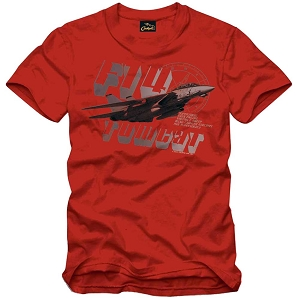 Cockpit F-14 Tomcat Red T-Shirt