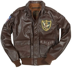 Cockpit Mens Flying Tigers Horsehide A-2 Flight Jacket