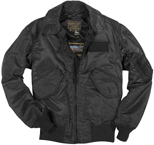 Cockpit Mens Stealth Fighter Weapons Nylon Flight Jacket
