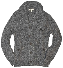 Cockpit Mens Grizzly Knit Cardigan Sweater