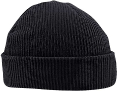 US Made Thinsulate Acrylic Knit Black Watch Cap