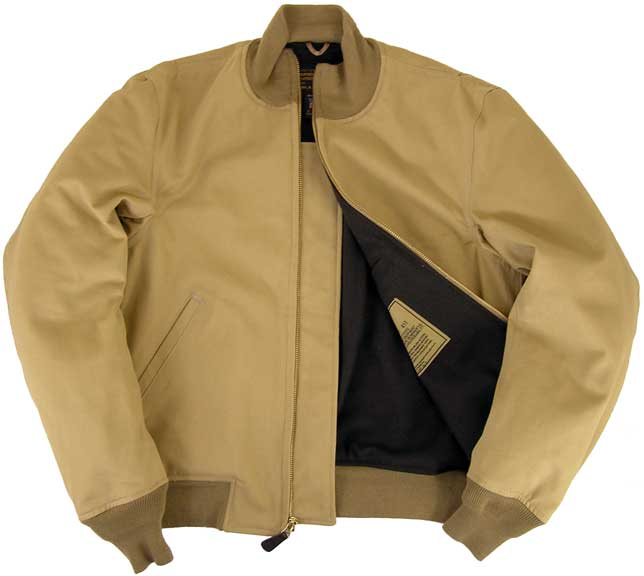Cockpit Mens Wool Lined Wwii American Tanker Jacket