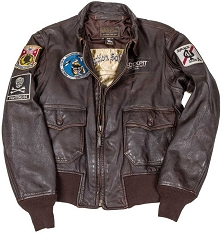 Cockpit Mens USS Forrestal Vietnam Flight Jacket