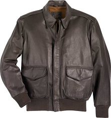 Cockpit Mens USAF Goatskin A-2 Flight Jacket