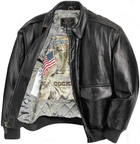 A2 Pilot Leather Jacket - Jacket