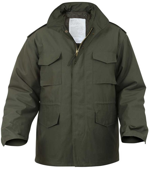 Rothco Mens Military M65 Field Jacket with Liner