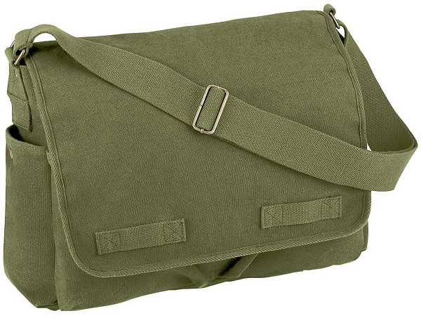 Heavyweight Canvas Classic Messenger Bag