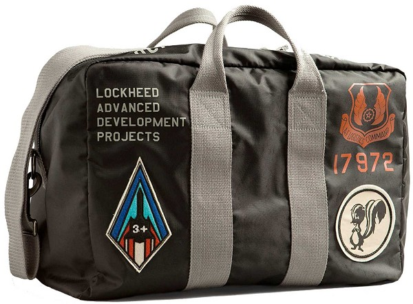 Lockheed Grey Navigational Kit Bag