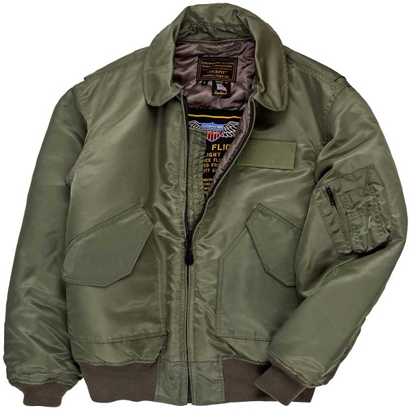 Cockpit Mens Military Spec Cold Weather Flight Jacket