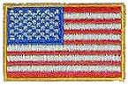 American Flag Mini Patch