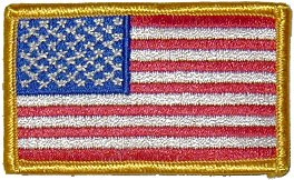 American Flag Uniform Patch