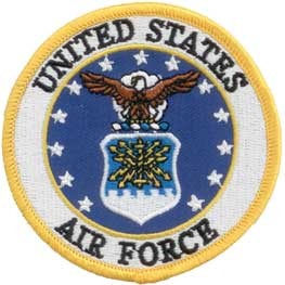 US Air Force Logo Patch