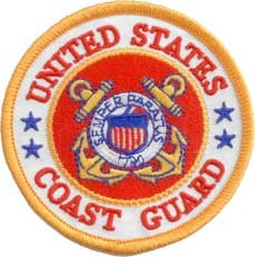 US Coast Guard Logo Patch