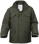 Authentic Mens Military M65 Field Jacket with Liner