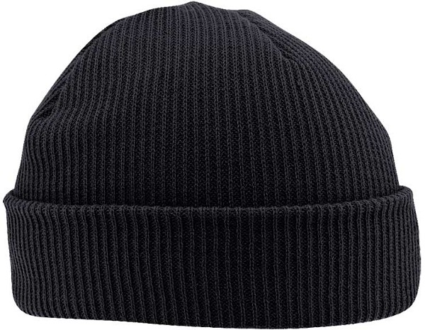 US Made Thinsulate Acrylic Knit Black Watch Cap 0cfc1f4d325
