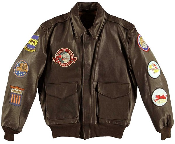 Cockpit Mens Tuskegee Airmen A-2 Flight Jacket